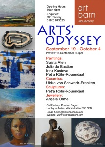Art exhibition, September 2015, Art Barn,