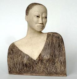 Sculpture of women's head