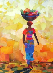 Gambian Fruitseller