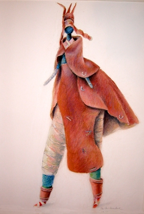 Herero Doll - Pastel (sold)