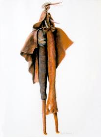 Herero Doll 2 - Pastel (sold)