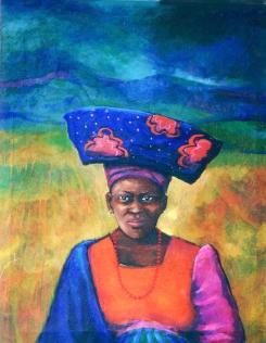 Herero Woman Namibia