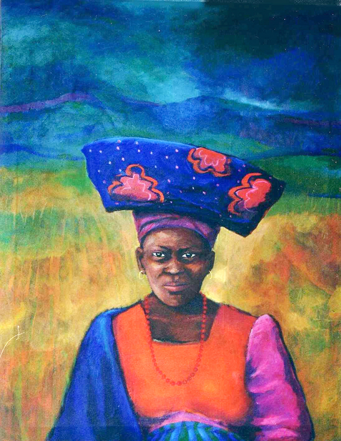 Herero Woman Namibia