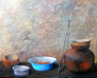 Preparing To Paint (sold)