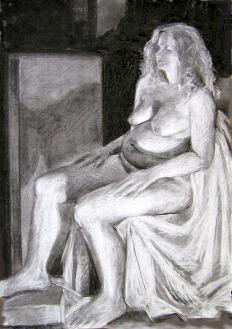 Jane - Charcoal