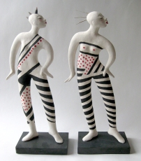 Two Dancers (one sold)