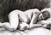 Naomi Resting - Charcoal
