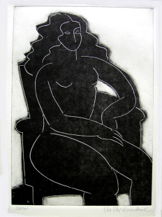 Naomi - Monotype (sold)