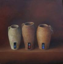 Botswana milk jugs