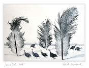 Guineafowl Forest- Christmas Card