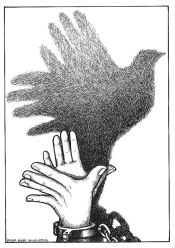 Hand And Dove
