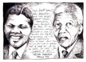 Mandela- Postcard