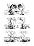 Metamorphosis lithograph