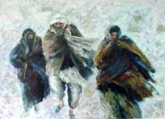 Afghan Refugees (sold)