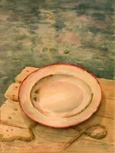 Fisherman's Plate (sold)