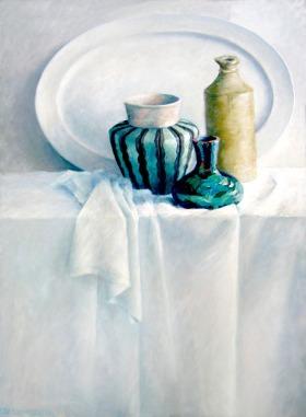 White Still Life (sold)