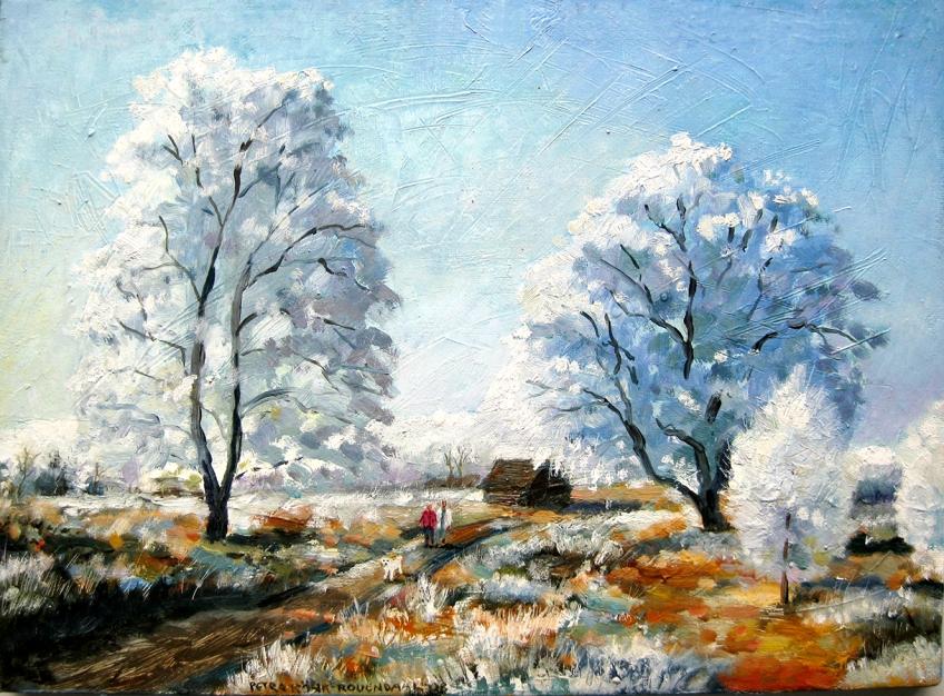 Winter painting