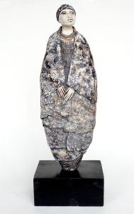 African woman sculpture