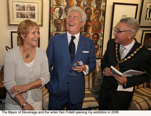 Stevenage exhibition opening