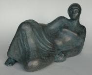 Daydreaming bronze resin