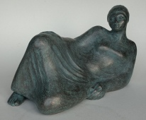 Daydreaming bronze resin