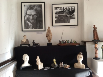 Part of Petra's display on the piano