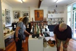 Looking at Petra's sculptures