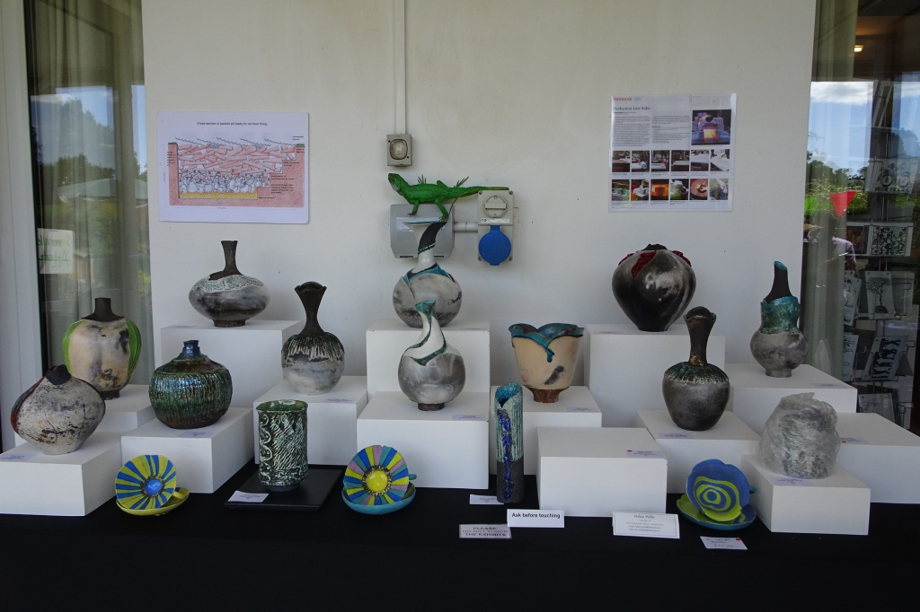 Helen's beautiful pots