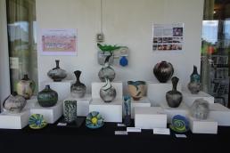 Helen's beautiful pots