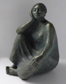 Zuri, bronze resin