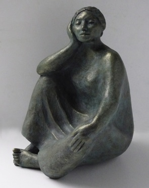Zuri, bronze resin (edition of 10, two sold)