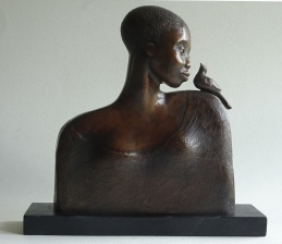 A Little Chit-Chat, bronze (3of 9 sold)