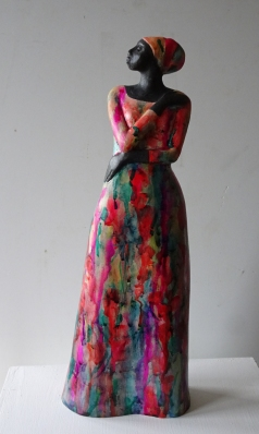 Technocoloured Dress (sold