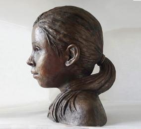 Francesca, bronze resin (sold)