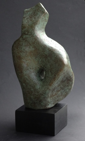 Woman, bronze resin (1 of 5 sold)