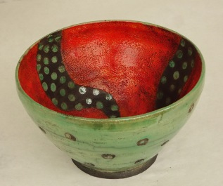 Red/Green Bowl(sold)
