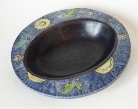 Sun Bowl, Raku (sold)
